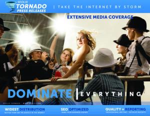 SEOLIX Tornado Press Release Distribution Service